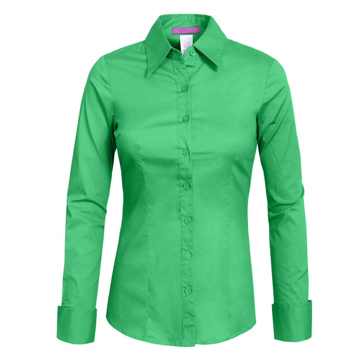 Womens Hunter Green Dress Shirt Bcd Tofu House